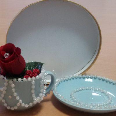 Organic Rose Tea Set