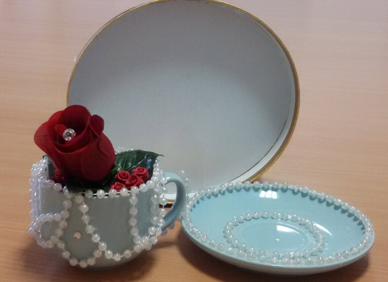Organic Rose Tea Set