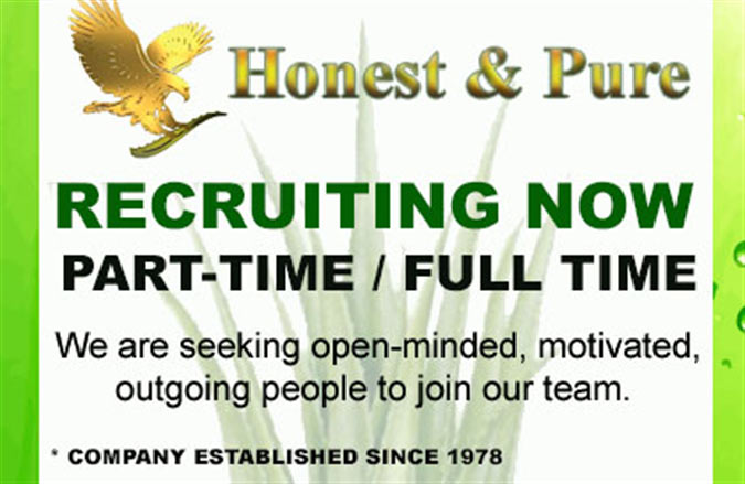 Forever Living recruiting